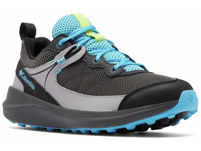 Columbia Trailstorm Shoes Youth, dark grey/cyan blue